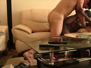 African cutie riding white unearth