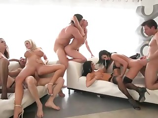 Milfs Orgy Sex Bandeau
