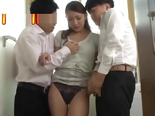 Blackmailed my son's assortment helpmeet #2[JAV English Subtitle]