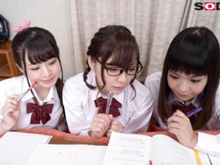 Fee payment New Years Under the Foot Warmer with Three Hot Schoolgirls Part 1 - SexLikeReal
