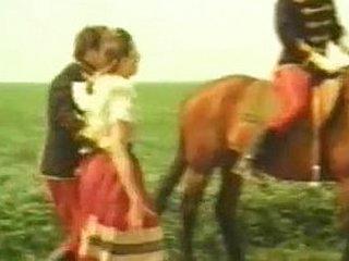 Cavalgando e transando