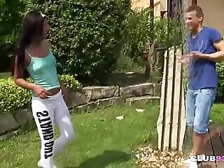 Dutch teen banged
