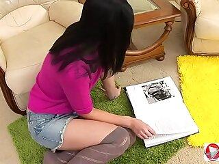 Mya Dark Anal Teen Angel HD
