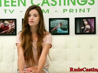 Hardfucked teen facialized convenient brutal casting