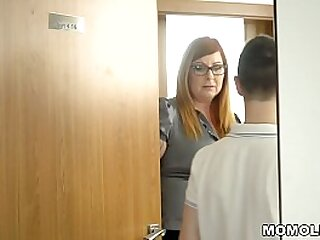 Horny Teacher Jumps on Young Pupil's Student Dick