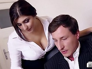 LETSDOEIT - Big Tits Teen Likes To Try Some Sex At The Office