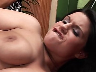 Hot sexy threesome at the garage with big tits BFF mom and big dick guy. XXX Har and ruogh big cock Porn with MILFs.