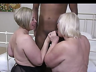 Shooting Star and Granny Lacey are hot for each other and a big, black dong